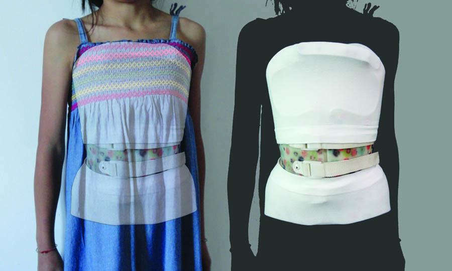 Maglia tubolare corsetto ortopedico