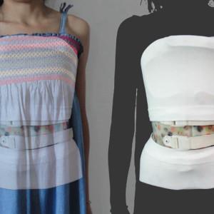 maglia soft tube per corsetto